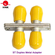 St Duplex Metal Standard Fiber Optic Adapter
